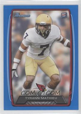 2013 Bowman - [Base] - Blue #205 - Tyrann Mathieu /499