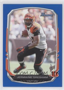 2013 Bowman - [Base] - Blue #48 - Jermaine Gresham /99