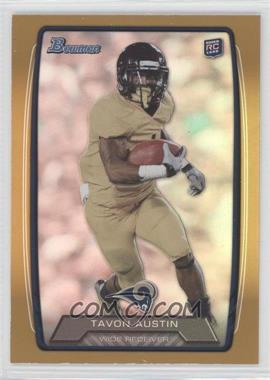 2013 Bowman - [Base] - Gold Rainbow Foil #130 - Tavon Austin /399