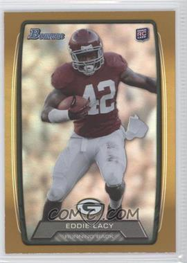 2013 Bowman - [Base] - Gold Rainbow Foil #140 - Eddie Lacy /399