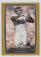 Dion Sims #/399