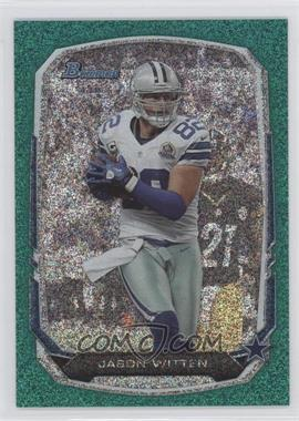 2013 Bowman - [Base] - Green Ice #23 - Jason Witten /50