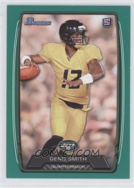 2013 Bowman - [Base] - Green #150 - Geno Smith /99