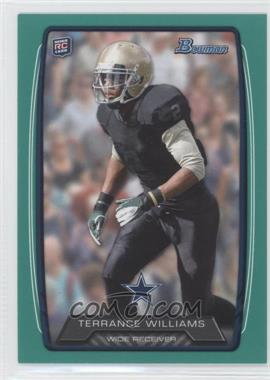 2013 Bowman - [Base] - Green #166 - Terrance Williams /99