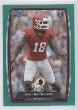 2013 Bowman - [Base] - Green #203 - Bacarri Rambo /99