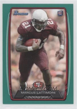 2013 Bowman - [Base] - Green #208 - Marcus Lattimore /99