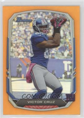2013 Bowman - [Base] - Orange Rainbow Foil #16 - Victor Cruz /50