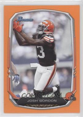 2013 Bowman - [Base] - Orange #86 - Josh Gordon /50