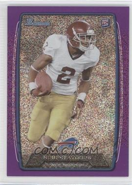 2013 Bowman - [Base] - Purple Ice #204 - Robert Woods /10