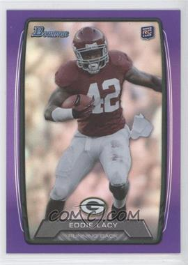 2013 Bowman - [Base] - Purple Rainbow Foil #140 - Eddie Lacy