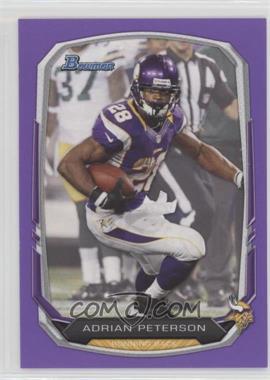 2013 Bowman - [Base] - Purple #1 - Adrian Peterson