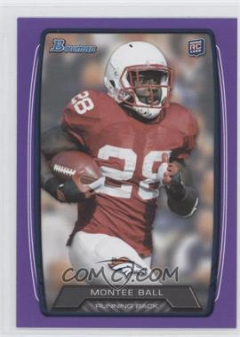 2013 Bowman - [Base] - Purple #135 - Montee Ball