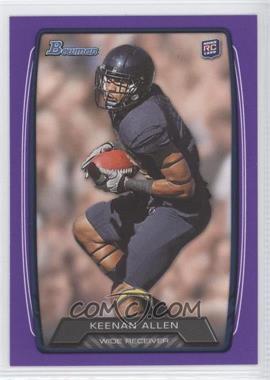 2013 Bowman - [Base] - Purple #175 - Keenan Allen