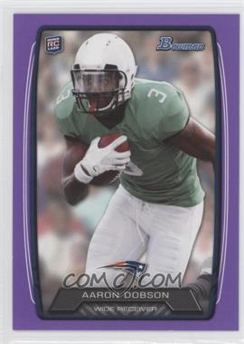 2013 Bowman - [Base] - Purple #207 - Aaron Dobson