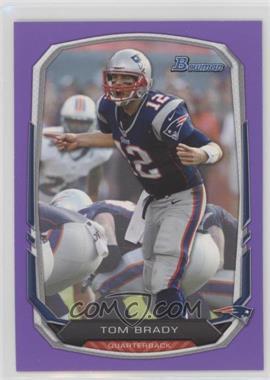 2013 Bowman - [Base] - Purple #50 - Tom Brady