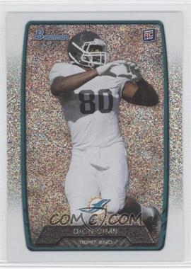 2013 Bowman - [Base] - Silver Ice #111 - Dion Sims