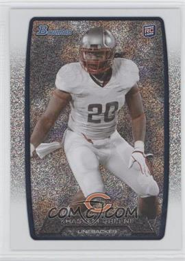 2013 Bowman - [Base] - Silver Ice #118 - Khaseem Greene