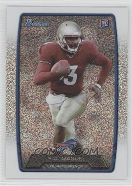 2013 Bowman - [Base] - Silver Ice #127 - EJ Manuel