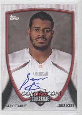 2013 Bowman - NFLPA Collegiate Bowl Autographs #11 - Sean Stanley