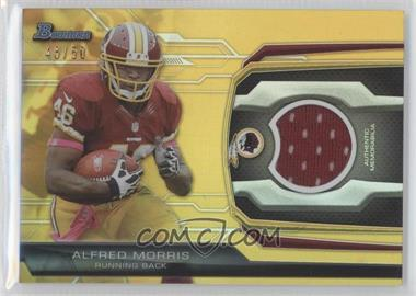 2013 Bowman - Relic - Gold #BR-AM - Alfred Morris /50