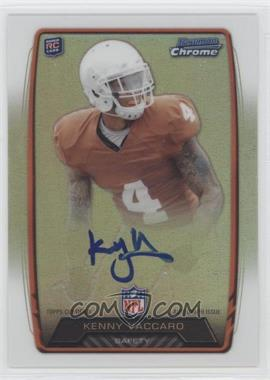 2013 Bowman - Rookie Chrome Refractor Autograph #RCRA-KV - Kenny Vaccaro