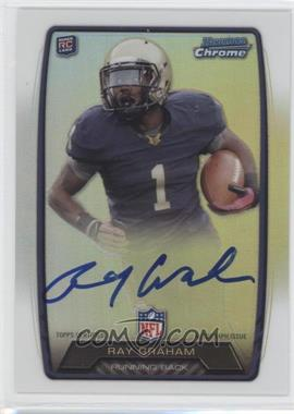 2013 Bowman - Rookie Chrome Refractor Autograph #RCRA-RG - Ray Graham