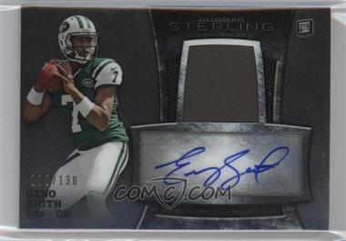2013 Bowman Sterling - Autograph Rookie Relics #BSAR-GS - Geno Smith /130