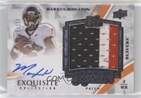 Rookie Signature Patch Tier 2 - Markus Wheaton #/125