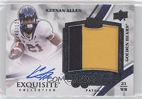 Rookie Signature Patch Tier 2 - Keenan Allen #/125