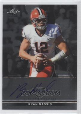 2013 Leaf Metal Draft - [Base] #BA-RN1 - Ryan Nassib