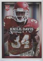 Knile Davis (facing forward) #/25