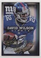 David Wilson #/25