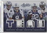 DeMarco Murray, Jason Witten, Tony Romo, Miles Austin #/25