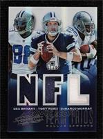 Dez Bryant, Tony Romo, DeMarco Murray #/99