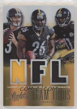 2013 Panini Absolute - Team Trios Materials #28 - Landry Jones, Le'Veon Bell, Markus Wheaton /99