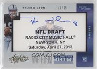 Tyler Wilson #/25