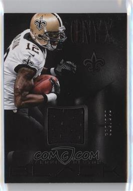 2013 Panini Black - Onyx Materials #8 - Marques Colston /299