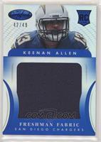 Freshman Fabric Jumbo - Keenan Allen #/49