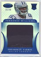 Freshman Fabric Jumbo - Terrance Williams /49