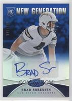New Generation - Brad Sorensen /100