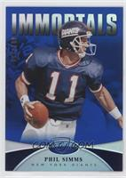 Immortals - Phil Simms #/100