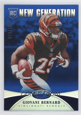 2013 Panini Certified - [Base] - Mirror Blue #236 - New Generation - Giovani Bernard /100