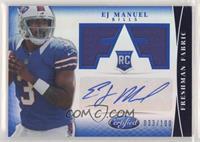 Freshman Fabric Signatures - EJ Manuel [EXtoNM] #/100