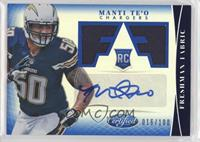 Freshman Fabric Signatures - Manti Te'o #/100