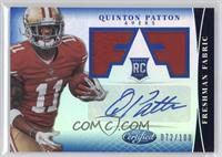 Freshman Fabric Signatures - Quinton Patton /100