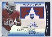 Freshman Fabric Signatures - Stepfan Taylor #/100