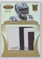 Freshman Fabric Jumbo - Terrance Williams #/25