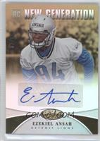New Generation - Ezekiel Ansah /25