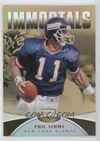 Immortals - Phil Simms #/25