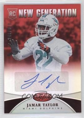 2013 Panini Certified - [Base] - Mirror Red Signatures [Autographed] #237 - New Generation - Jamar Taylor /999